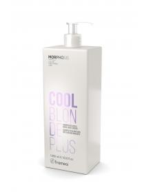COOL BLONDE PLUS SHAMPOO (1000ml) - sruogelėms šviesintų plaukų šampūnas
