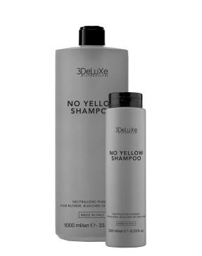 3DeLuXe NO YELLOW SHAMPOO - pilkinantis šampūnas