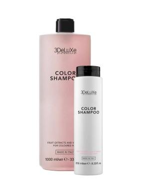3DeLuXe COLOR SHAMPOO - šampūnas dažytiems plaukams