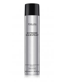 3DeLuXe EXTREME HOLD (500ml) - ypatingai stiprios fiksacijos aerozolinis plaukų lakas
