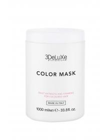 3DeLuXe COLOR MASK (1000ml) - kaukė dažytiems plaukams